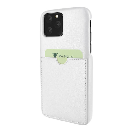 Piel Frama 835 White FramaSlimGrip Leather Case for Apple iPhone 11 Pro Max