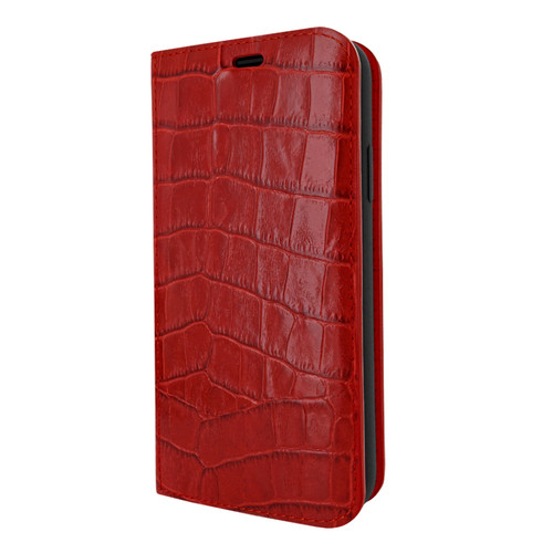 Piel Frama 833 Red Crocodile FramaSlimCards Leather Case for Apple iPhone 11 Pro
