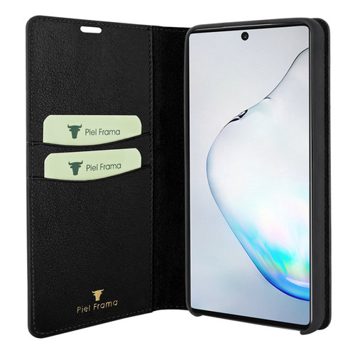 Piel Frama 830 Black FramaSlimCards Leather Case for Samsung Galaxy Note 10 Plus
