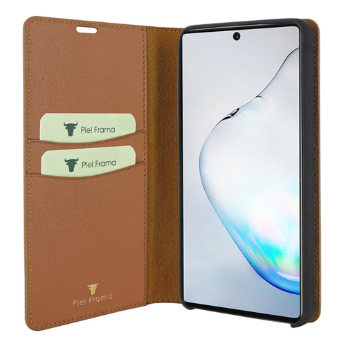 Piel Frama 829 Tan FramaSlimCards Leather Case for Samsung Galaxy Note 10