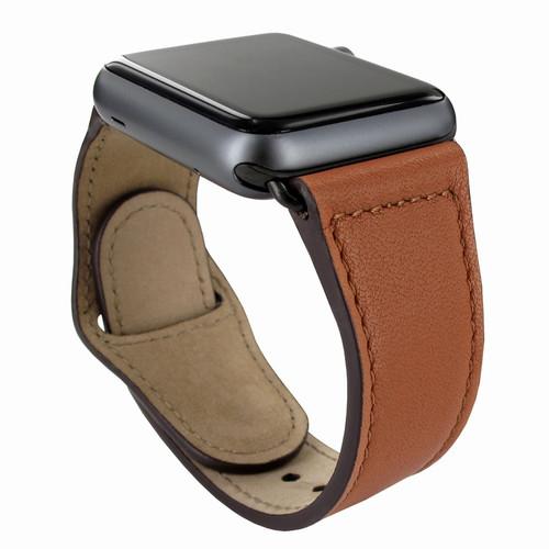 Piel Frama 732 Tan Leather Strap for Apple Watch (38-40mm)