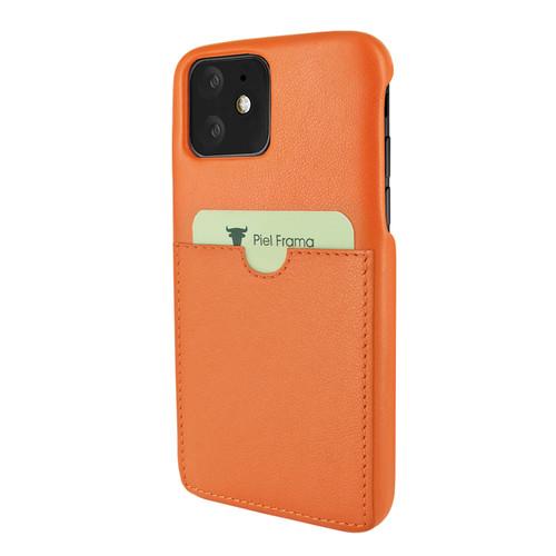 Piel Frama 838 Orange FramaSlimGrip Leather Case for Apple iPhone 11