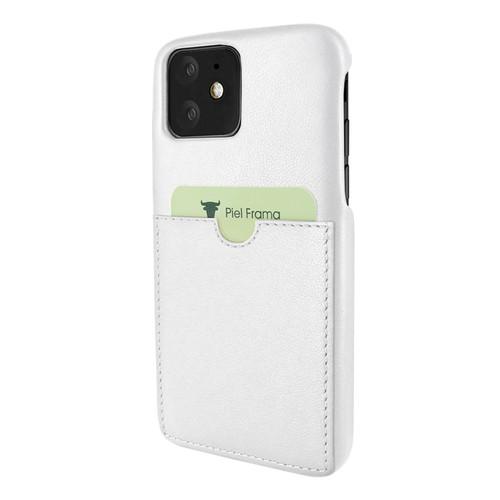 Piel Frama 838 White FramaSlimGrip Leather Case for Apple iPhone 11