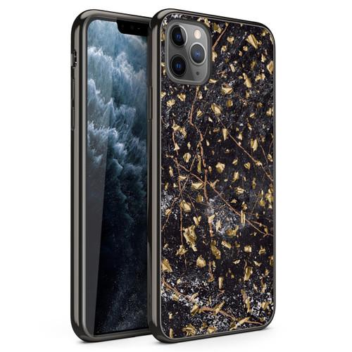 ZIZO REFINE Series iPhone 11 Pro Case - Ultra Slim Thin Case - Black Marble RFE-IPH58-BKMR