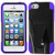 Asmyna Advanced Armor Stand Protector Cover for Apple iPhone 5s/5 - Purple Inverse