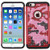 Asmyna FullStar Protector Cover for Apple iPhone 6s/6 - Red(camo) / Black