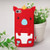 Asmyna Crown Piggie Pastel Skin Cover for Apple iPod touch (5th generation) - Red