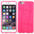 MyBat Basketball Texture Candy Skin Cover for Apple iPhone 6s Plus/6 Plus - Hot Pink
