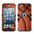 MyBat TUFF Hybrid Protector Cover [Military-Grade Certified] for Apple iPod touch (5th generation) - Basketball-Sports Collection / Black