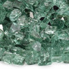 "1/2"" Evergreen Reflective Fire Glass"