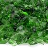Light Green Small Fire Pit Glass