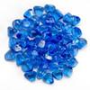 Midnight Blue Luster Zircon Fire Glass