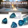 Zircon Fire Glass size chart