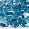 Powder Blue Luster Zircon Fire Glass