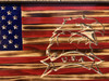 American flag with Eagle1