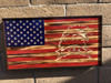 American flag with Eagle5