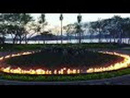 45' Fire on Water feature