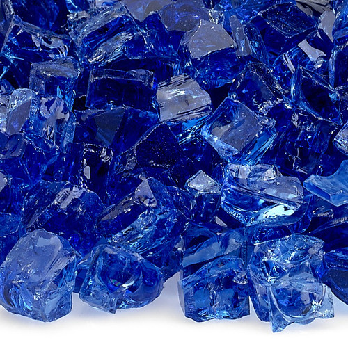 """1/2"""" Cobalt Classic Fire Glass"""