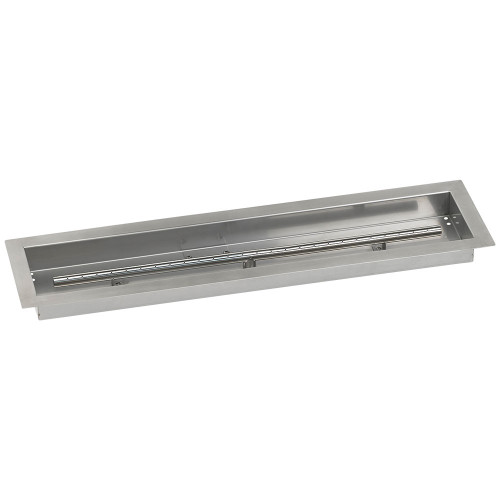 "30"" x 6"" Stainless Steel Linear Drop-In Pan"