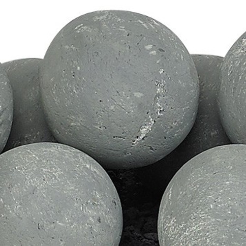 Cape Gray Lite Stone Ball Set - Uniform 4""