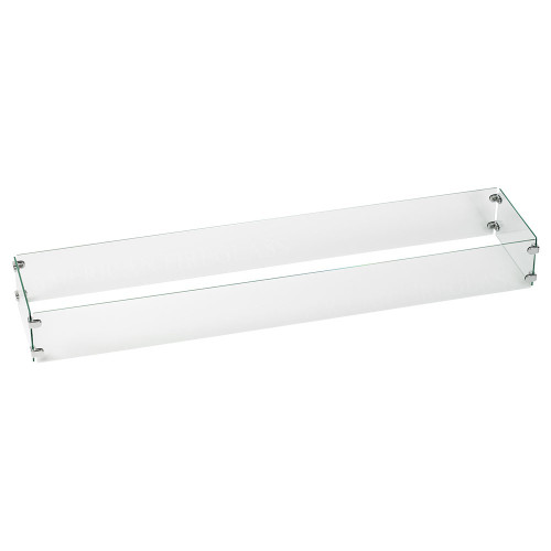 Linear Glass Flame Guard