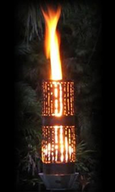 Bamboo Automated Tiki Torch