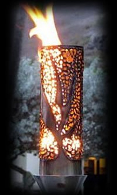 Bird of Paradise Automated Tiki Torch