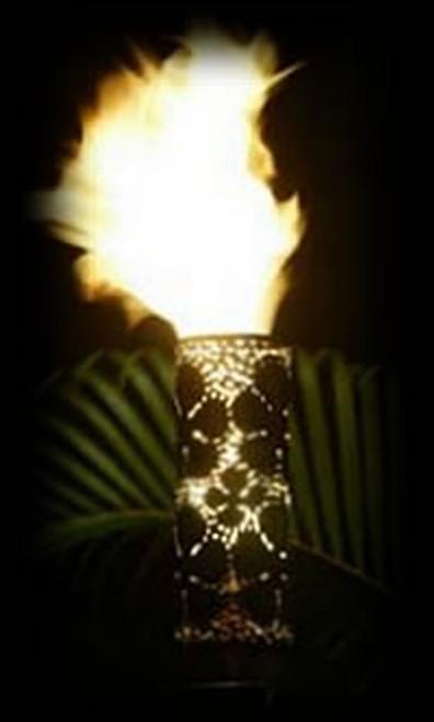 Plumeria  Automated Tiki Torch