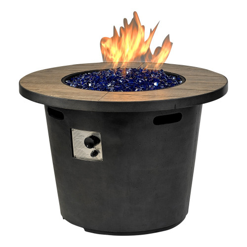 "duraflame® Del Rey Fire Pit With 35"" Top"