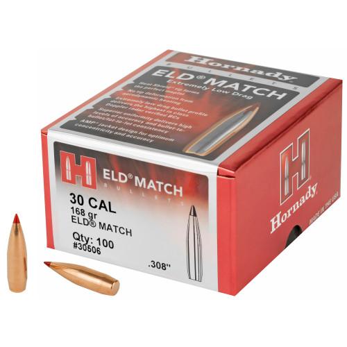 Hrndy Eld-m 30cal .308 168gr 100ct