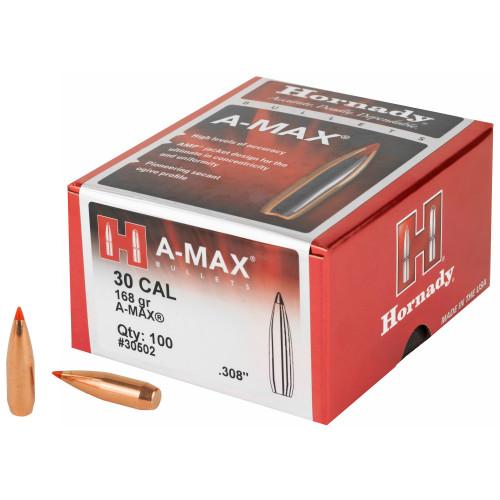 Hrndy Match A-max 30cal 168gr 100ct