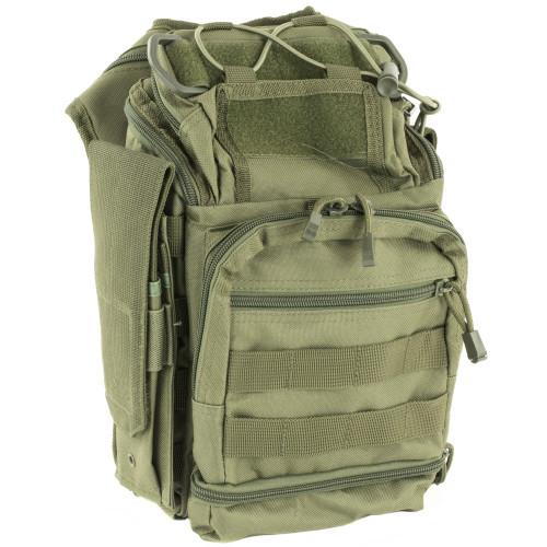 Ncstar Vism First Resp Utl Bag Grn