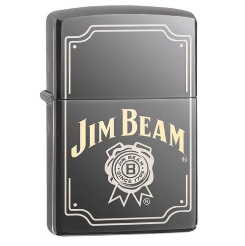 Zippo Black Ice Jim Beam Lighter