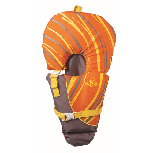 Full Throttle Infant In.Baby-SafeIn. Vest-Orange Grey