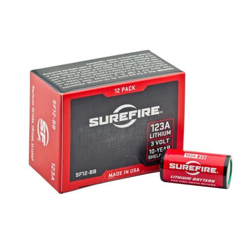 SureFire 12ct Sf123A Batteries Boxed