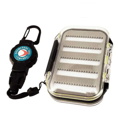 Boomerang Fly Box Small with Small Gear Tether and Carabiner