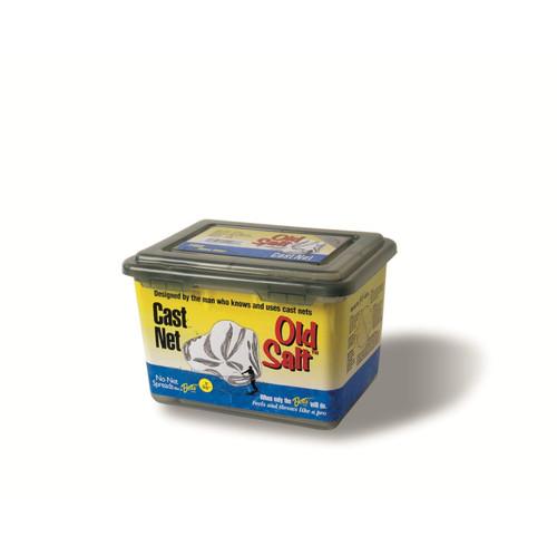 Betts Old Salt Cast Net 8ft Mono 3 8in Mesh Box