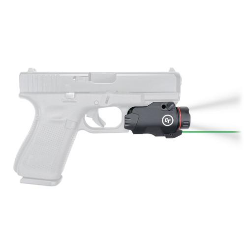 Crimson Trace CMR-207G Rail Master Pro Green Laser FDE