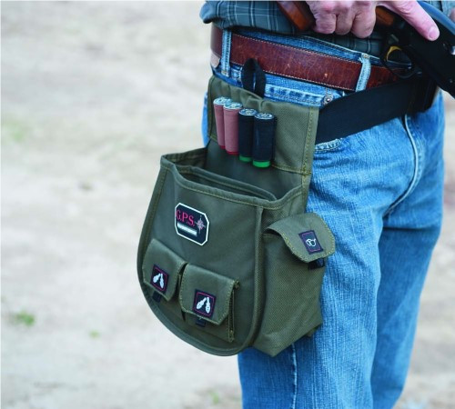 G.P.S. Deluxe Shell Pouch Olive GPS-1093CSP