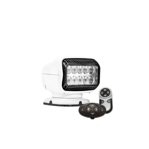 Golight GT LED Permanent Mount w Dual Wireless Remotes White