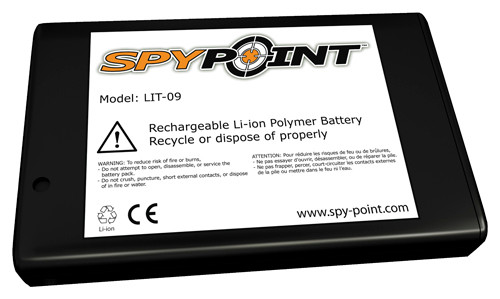 Spypoint Additional lithium battery for LIT-C-8