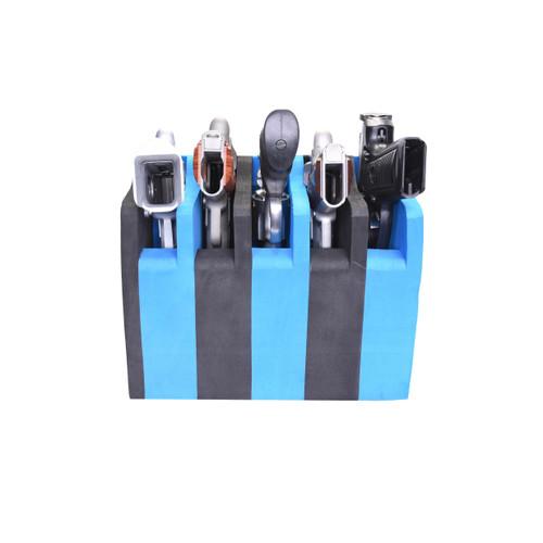 G.P.S. 5 Pistol Soft Cradle - Black/Blue