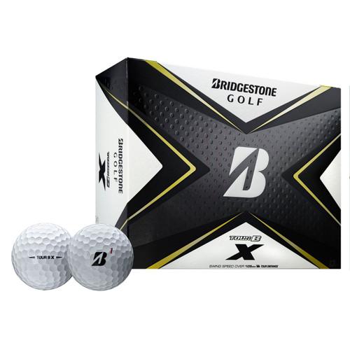Bridgestone Tour B X Golf Balls-Dozen White