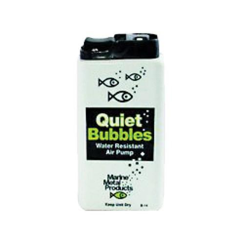 Marine Metal Aerator Quiet Bub 1.5V 33 Hrs W/2 D Battery