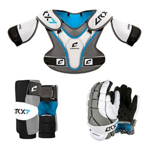 Champro LRX7 Lacrosse Box Set Grey