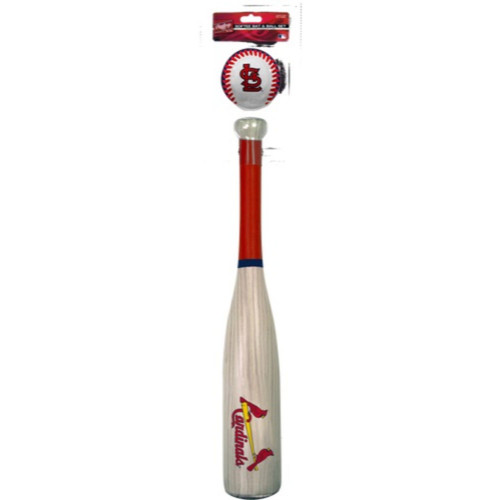 Rawlings StL Cardinals Grand Slam Softee Bat and Ball Set