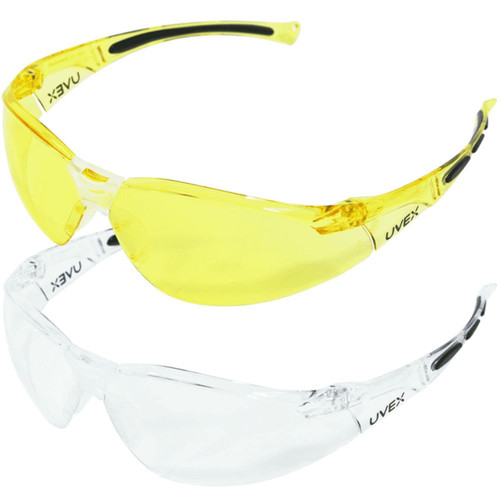 Howard Leight HL800 Multi-Pack Clear and Amber Eyewear