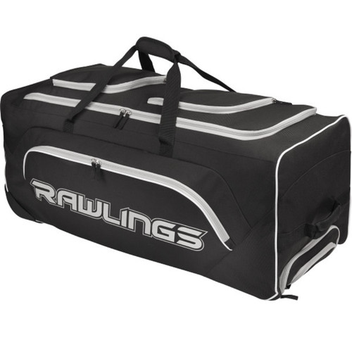 Rawlings Wheeled Catchers Bag - Black