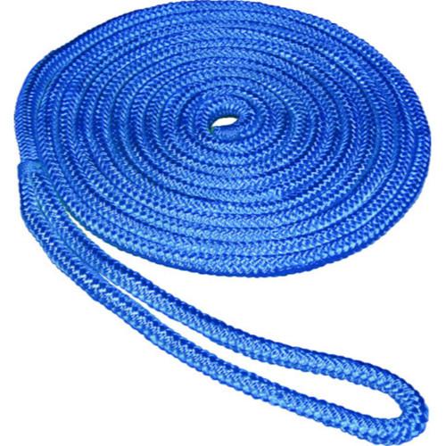SeaSense in x ft Double Braid Dockline-Blue