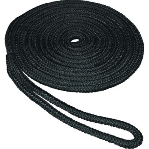 SeaSense in ft Double Braid Dockline-Black